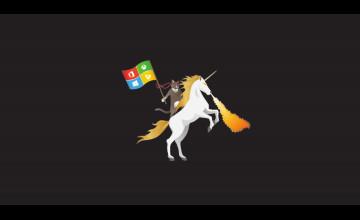 Microsoft Ninja Cat Unicorn Wallpaper