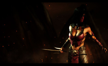 Mileena Mortal Kombat X Wallpaper