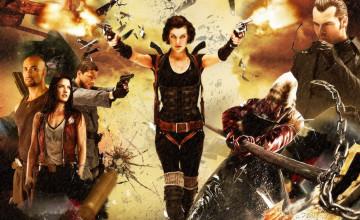 Milla Jovovich Resident Evil Wallpaper
