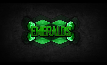Minecraft Emerald Wallpaper