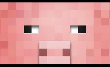 Minecraft Pig Wallpaper