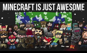 Minecraft Skin Youtubers Wallpapers