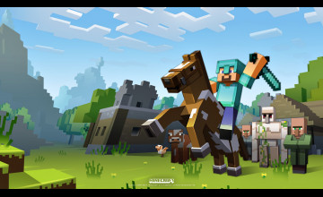 Minecraft Wallpaper 2048 1152
