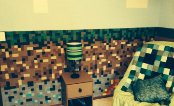 Minecraft Wallpaper for Bedroom Walls