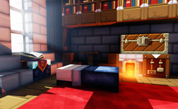 Minecraft Wallpaper for Kids Room