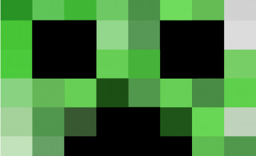 Minecraft Wallpapers Creeper Head