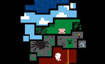 Minecraft Wallpapers for iPad