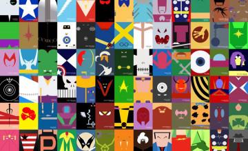 Minimalist Marvel Wallpaper