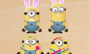 Minions Easter Wallpaper