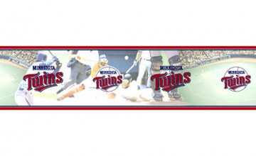 Minnesota Twins Wallpaper Border