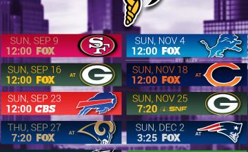 Minnesota Vikings 2019 Schedule Wallpapers