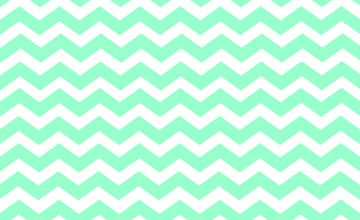 Mint Green Chevron Wallpaper