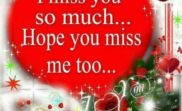 Miss U Wallpapers for Love