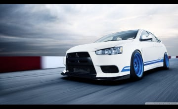Mitsubishi Evolution Wallpaper