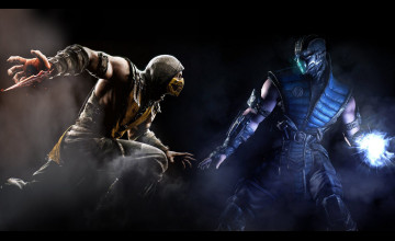 MKX Scorpion Wallpaper