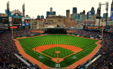 MLB Baseball Parks Wallpaper