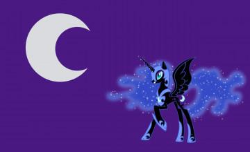 MLP Nightmare Moon Desktop Wallpaper