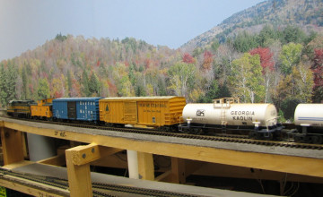 Model Railroad Backdrops Wallpaper