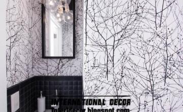 Modern Black and White Wallpaper