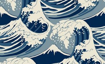 Modern Wave Wallpaper