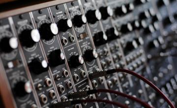 Modular Synthesizer Wallpaper
