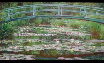 Monet Background Wallpaper