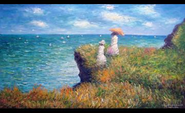 Monet Paintings Wallpaper