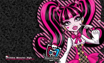 Monster High Background Wallpaper