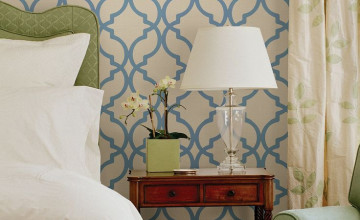 Moroccan Trellis Wallpaper