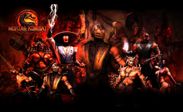 Mortal Kombat 9 Wallpapers