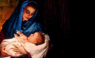 Mother Mary And Baby Jesus Wallpapers
