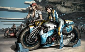 Motorcycle Art Wallpaper