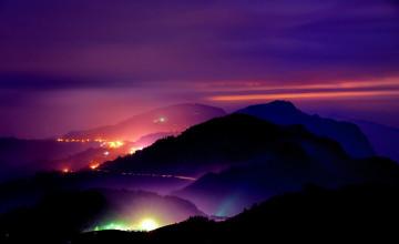 Mountain Night Wallpaper