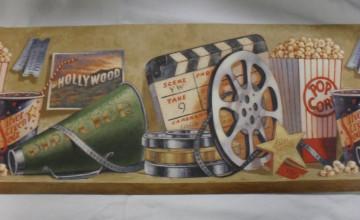 Movie Theme Wallpaper Border