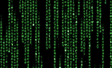 Moving Binary Code Wallpaper