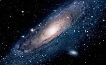 Moving Galaxies Wallpaper