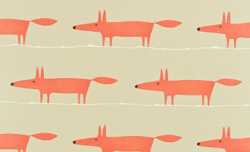 Mr Fox Wallpaper