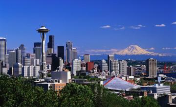 Mt Rainier Seattle Wallpaper