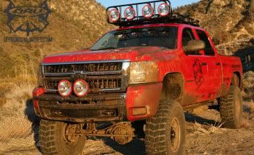 Mud Trucks Wallpaper