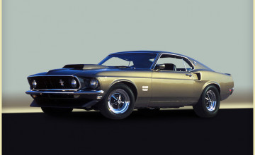 Muscle Cars Wallpaper Mustang