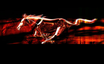 Mustang Emblem Wallpaper