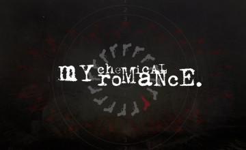 My Chemical Romance Logo Wallpaper