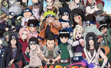 Naruto Characters Wallpaper