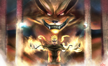 Naruto Nine Tailed Beast Wallpapers