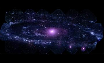 NASA Andromeda Galaxy Wallpaper