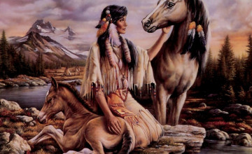 Native American Wallpaper