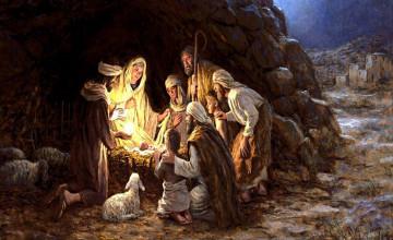 Nativity Christmas Wallpaper