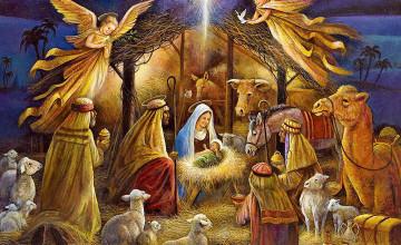 Nativity Scene Wallpapers