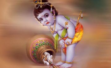 Natkhat Krishna HD Wallpaper Download