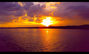 Nature Sunset Wallpaper HD